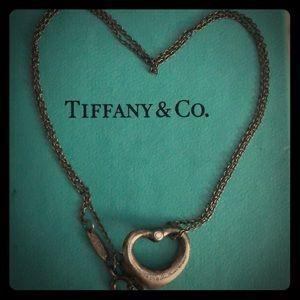 Tiffany heart .929 with diamonds